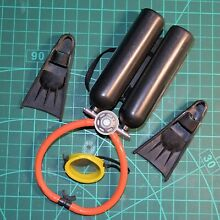 palitoy action man frogman air cylinder