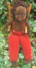 norah wellings 17 1930 pacific south black doll