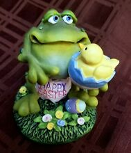 russ berrie toadily yours happy easter frog egg