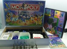 go for it parker monopoly board game disney edition