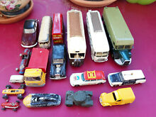 minialuxe 17x voitures dinky toys solido