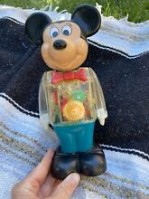 gabriel industries mickey mouse walking wind up toy