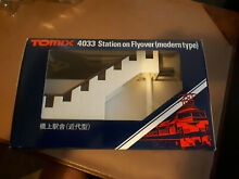 tomix n scale hashigami station flyover