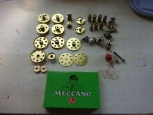 meccano brass other parts plus tin 7a set