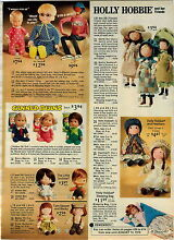 drowsy 1975 advertisement doll holly