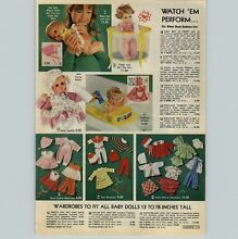 drowsy 1978 advertisement doll baby laugh