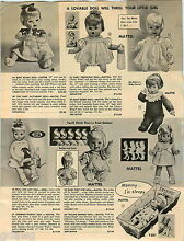 drowsy 1967 paper ad doll mattel ideal