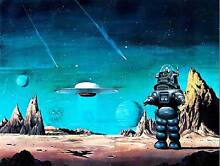 robby the robot film painting robby robot forbidden