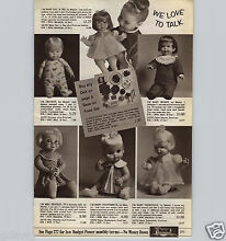 drowsy 1967 paper ad mattel doll baby