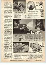 toy movie projector 1968 paper ad kenner lassie give a