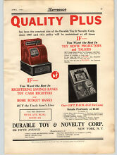 toy movie projector 1936 paper ad durable toy corp cash