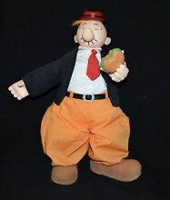 popeye wimpy plush 1985 king features