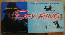 waddingtons spy ring 1965 board game complete
