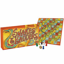 board game style snakes ladders family fun
