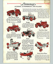 steelcraft 1928 paper ad 3 pg pull toy pedal