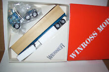 winross 1984 werner diecast flat bed