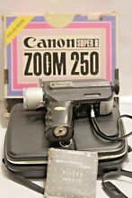 Canon Super 8 Zoom 250 Movie Camera