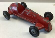 timpo toys 1950 s red racing car star