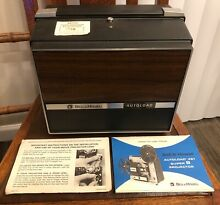vintage bell howell autoload 461 super 8