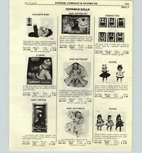 horsman 1965 paper ad 4 pg dolls mary