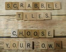 scrabble authentic recycled single tiles for