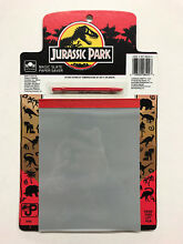 magic slate jurassic park paper saver toy 1993