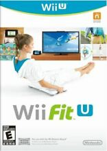 wii fit u software only for wii u