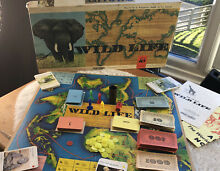 spears game wild life board game wwf by spears