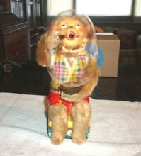 alps rare battery operated monkey