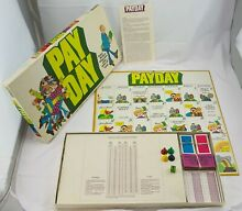 pay day game 1975 payday board game by parker
