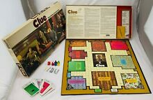 go for it parker 1972 clue game by parker brothers