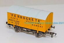 dapol b311 oo gauge 10 ton covered cement
