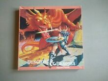 jigsaw puzzle dungeons dragons giant red dragon d