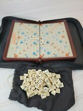 scrabble travel game travel size easy