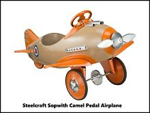 steelcraft pedal cars new metal sign sop camel