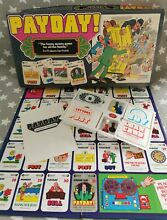 pay day game 1970 s payday board game by palitoy