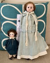 bisque doll little boy is possibly kestner tall