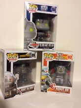 robby the robot funko robot 3pc 3 75 pop set lost