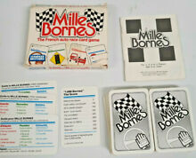 mille bornes french auto race card game parker