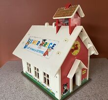 little people fisher price school house