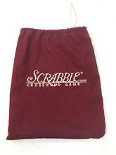 scrabble deluxe edition tile bag replacement