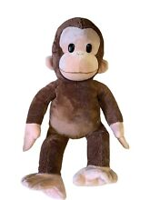 russ berrie curious george monkey plush toy