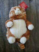 russ berrie large prudence cat new w tags