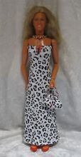 bionic woman made to fit dolls 74 handmade