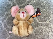russ berrie luv pets mouse brown pet plush
