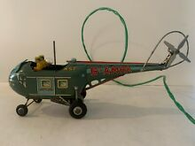 alps japanese tin toy battery operated