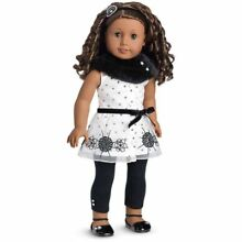 american girl doll let it snow holiday outfit new