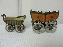 penny toy 2 1920 s 30 s tin baby carriage