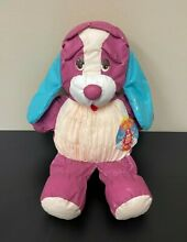 russ berrie rare 13 pudgy pals purple puppy dog