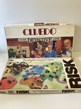 go for it parker cluedo risk world conquest board